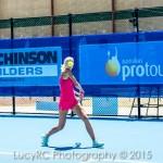Ellen Allgurin, Hutchinson Builders Toowoomba International, Tennis tournament at the USQ Toowoomba Regional Tennis Centre HBTI
