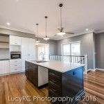 Lovely kitchen in a new build timber home at Gormans Gap