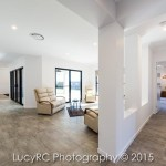 Living area in a new build home in Highfields Queensland