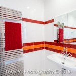 Melbourne Hydronic Heating fixtures in a East Toowoomba bathroom