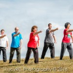 Taoist Tai Chi staff group demonstration Toowoomba