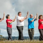 Taoist Tai Chi staff group demonstration