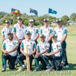 South West Indigenous Network Cricket team group photo