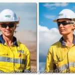 FKG employees headshots on location