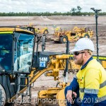 FKG employees on location at Talinga Pond Queensland